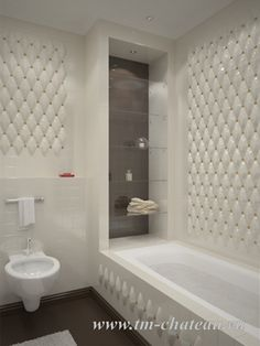Творческие идеи для ванной: часть 2 - ниши, фото + проекты дизайнеров