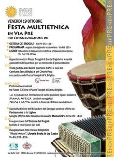 programma inaugurazioni in contesto multietnico