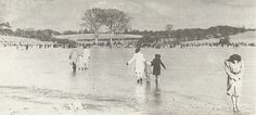 Black Lough Frozen Over 1940 - Dungannon