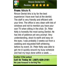 Rincon Dental Arts is by far the best experience I have ever had at the dentist.  The...