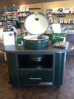 "New 60"" Island for Large Big Green Egg! In stock and ready for purchase!!"