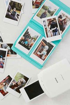 Instax Photo Album from Urban Outfitters! I just need to get a Polaroid camera first! Instax Mini Film, Fujifilm Instax Mini, Instax Mini Camera, Fuji Instax Mini, Instax 8, Instax Wide, Instax Printer, Instax Photo Album, Smartphone Printer