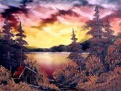 Bob Ross | Bob Ross style painting. R.I.P Bob!