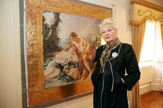 Dame Vivienne Westwood visited Danson House in Bexleyheath, UK, April 2015. Watch the video here.