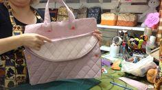 Como fazer uma bolsa maternidade grande de menina