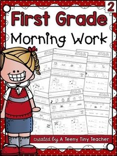 First Grade Morning Work 2