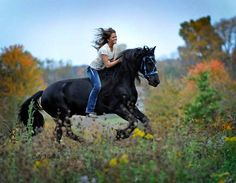 There is no better way to connect with nature than to ride bareback. ~K.R.  Cally Matherly Photography