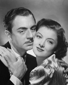 William Powell and Myrna Loy Love them together...