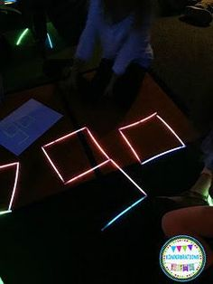 Glow Day in Kinder/TK! We darkened our classroom and used black lights and glow sticks to create this highly engaging literacy center time. Our students loved using glow sticks to build sight words. Click to read more about our special day!