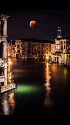Awesome night view from Venice! #nighttview #venice #travel #italy