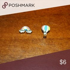 Just hot air balloon 1 charm Jewelry