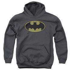 Batman: Little Logos Youth Hoodie