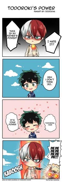 Izuku Midoriya est un jeune homme qui ne voit pas le monde sous son m… Izuku Midoriya is a young man who does not see the world under his … # Fanfiction # amreading # books # wattpad Boku No Hero Academia Todoroki, My Hero Academia Memes, Hero Academia Characters, My Hero Academia Manga, Tsurezure Children, Film Anime, Deku X Kacchan, Anime Kawaii, Boku No Hero Academy