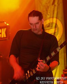Peter Steele of Type O Negative, photo by Kenneth Smith.  Oh, how missed Pete is....