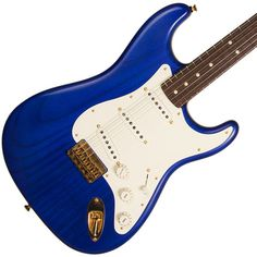 2015 FMIC Fender Custom Shop Masterbuilt Featherlight Stratocaster Cobalt Blue Yuri Shishkov | Available at Garrett Park Guitars | www.gpguitars.com