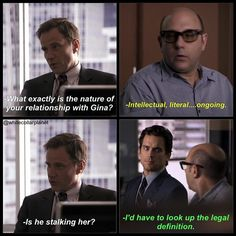 Neal, Peter and Mozzie. White Collar.
