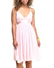 She's Cool - Be the Belle of your ball in this simply beautiful Ballerina Challi Babydoll Dress!