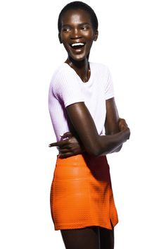 Aamito Lagum [Photo Courtesy of DNA Model Management]
