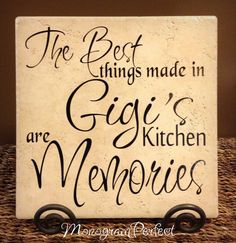 The Best Things Made In Gigi's Kitchen @Teresa Selberg Selberg Selberg Selberg Sheffer