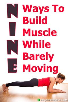One of the best ways to increase bone density and slow decrease in metabolic function is through exercise. So what if I showed you how to do all that, and build muscle, without moving an inch? Build Muscle Fast, Gain Muscle, Weight Training, Training Tips, Muscle Training, How To Increase Muscle, Increase Bone Density, Isometric Exercises, Skeletal Muscle