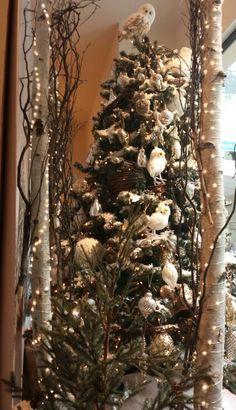 Woodland Christmas tree @Vicki Smallwood Smallwood Snyder Barn