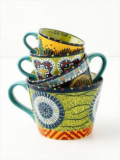 awesome measuring cups from Anthropologie @Jessica Howerton
