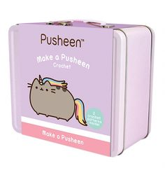 Create your own Crochet Pusheen with this super-cute craft set! With everything you need to lovingly make your very own Pusheen, including 2 designs, the kit contents are even Pusheen-themed, too. A purrfect Pusheen gift idea for budding and pro-crafters alike!