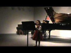 """first violin recital; open strings and """"Mary Had a Little Lamb""""—See more of this young violinist #from_daniavdb"""