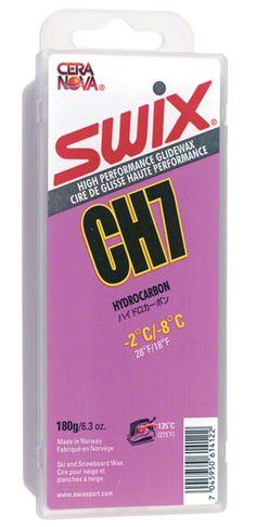Swix Hydrocarbon Wax: CH7 Violet: 180 grams: Bulk Wax