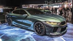 BMW Concept M8 Gran Coupe shows its green and gold face in Geneva - Autoblog