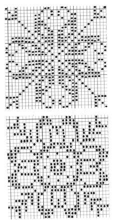 Cross Stitch Borders, Cross Stitch Rose, Cross Stitch Charts, Cross Stitch Designs, Cross Stitching, Cross Stitch Embroidery, Cross Stitch Patterns, Crochet Motif Patterns, Fair Isle Knitting Patterns