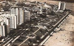 """Santos (SP)   Postais antigos de """"vistas de praias""""; Gonzaga, Boqueirão, José Menino, Ponta da Praia etc. - SkyscraperCity"""