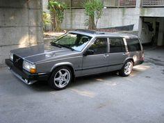 Super clean Volvo 740 Turbo.. 1990?