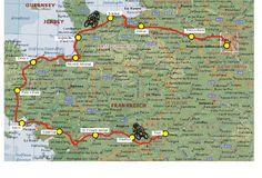 Fahrradtour Frankreich 2005: Loire, Bretagne, Normandie