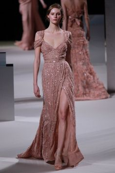 The romantic, elegant and classy dress by Elie Saab.