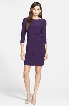 Tahari Tiered Jersey Sheath Dress available at #Nordstrom