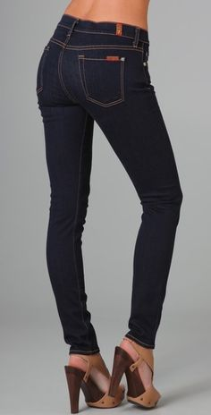 Rockin these suckas today!  the skinny jeans by seven for all mankind $149
