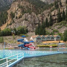Ouray Colorado Hot Springs This is  a nice place for the family