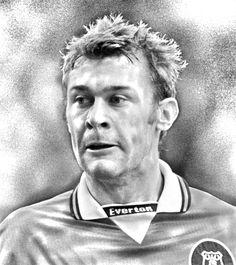 Photoshop Sketch - The legend that is Duncan Ferguson. @everton