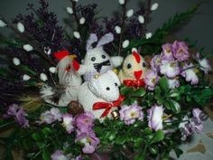 Koszyczek Wielkanocny, Koszyk, Stroik - Rękodzieło Christmas Ornaments, Holiday Decor, Christmas Jewelry, Christmas Decorations, Christmas Decor