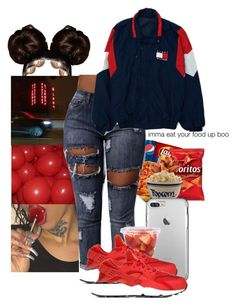 """Untitled #59"" by childofshakur ❤ liked on Polyvore featuring NIKE"