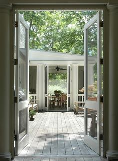 love the double screen doors, how could i possible do this in my kitchen ?