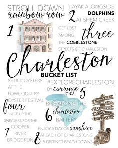What's on your 2018 bucket list? We've rounded up our must-dos for the new year in Charleston, SC. See our top 8 things to do in Charleston in Estilo Charleston, Charleston Sc Things To Do, Charleston Style, Charleston South Carolina, Charleston Sc Restaurants, Isle Of Palms South Carolina, Folly Beach South Carolina, North Carolina, Charleston Food