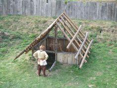 Castrum Vechtense Grubenhaus - Grubenhaus – Wikipedia