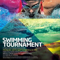 Sept 28 6:30pm: Bring your friends and be part of these amazing swimming tournaments @itsburjuman centre @fitnessfirstme