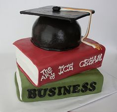 Perfect graduation cake especially because I want to major in Business!