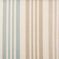 Use Sunbrella Upholstery fabric indoors or outdoors Sunbrella Pavilion Aqua/Cocoa 15356-680 Outdoor Upholstery Fabric.