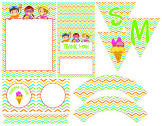 FREE Summer Party Printables from Thedezign Party! | Catch My Party