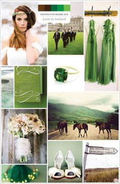 Love in Ireland } Aisle Candy Inspiration Board 003