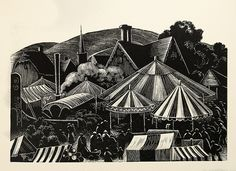 "Clare Leighton ""Country Matters"" Illustration (Wood Engraving - 1937)"